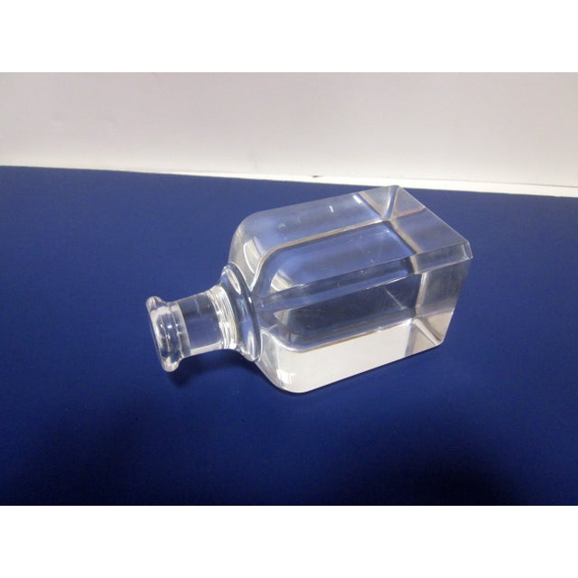 Image of Ritts Lucite Hollywood Regency Candle Holder