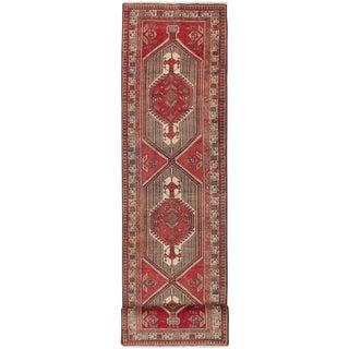 "3'6"" x 13'7"" Ardabil Vintage Persian Rug"