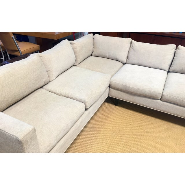 Custom Made L Sectional Sofa Chairish