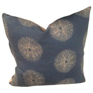 Kelly Wearstler Sea Urchin Pillow in Blue & Ivory