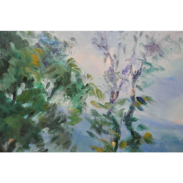 Signed Impressionist Oil Painting - Image 7 of 8