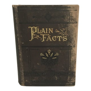 """Plain Facts for Old and Young"" Victorian Era Book"