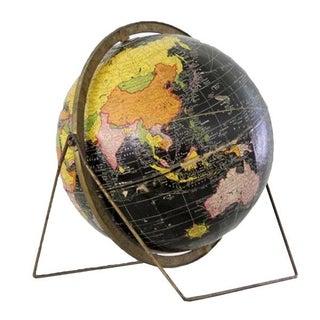 Mid-Century Vintage World Globe