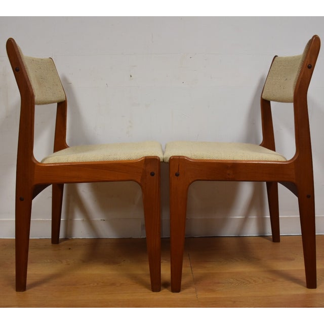 Teak Dining Chairs - Set of 4 - Image 5 of 11