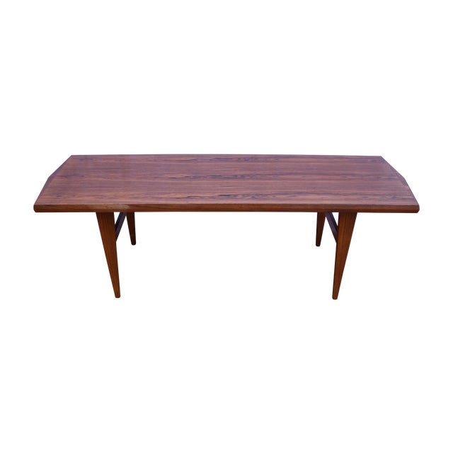 Danish Mid Century Rosewood Coffee Table - Image 1 of 5