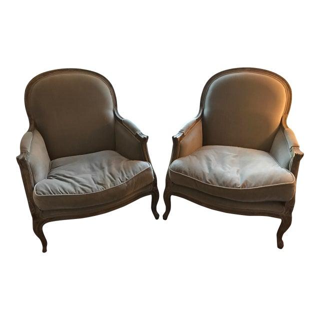 Restoration Hardware Sale: Restoration Hardware Lyon Chairs - A Pair