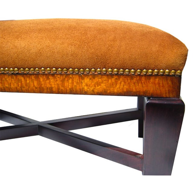 Bench in Polo Ralph Lauren Nubuck Suede Leather - Image 5 of 5