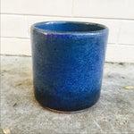 Image of Vintage Blue Gainey Planter
