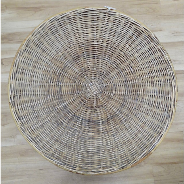 Wicker Accent Table - Image 3 of 4