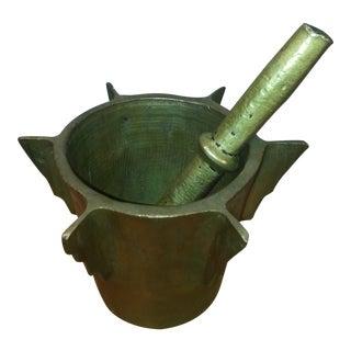 Hand Made Mortor & Pestle - A Pair