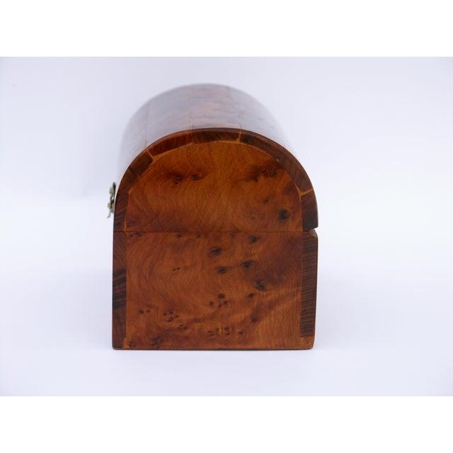Decorative Juniper Burl Wood Box - Image 9 of 10