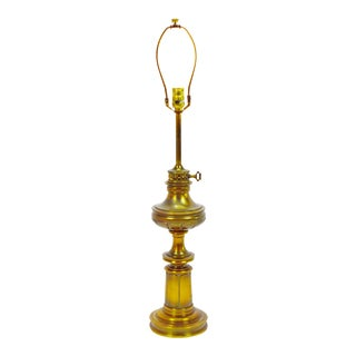 Vintage Stiffel Traditional Style Brass Table Lamp