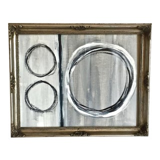 Mid-Century Inspired Original Abstract Painting