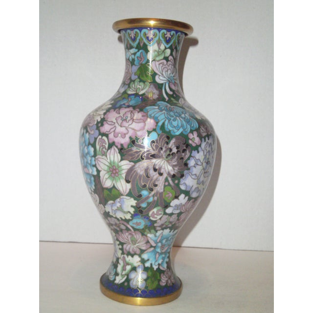 Large Cloisonne Vase - Image 5 of 7