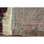 "Image of Vintage Sarouk Handmade Persian Rug - 3'4"" x 4'11"""