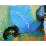 "Image of Liz Barber ""Delphinium 2"" Painting"