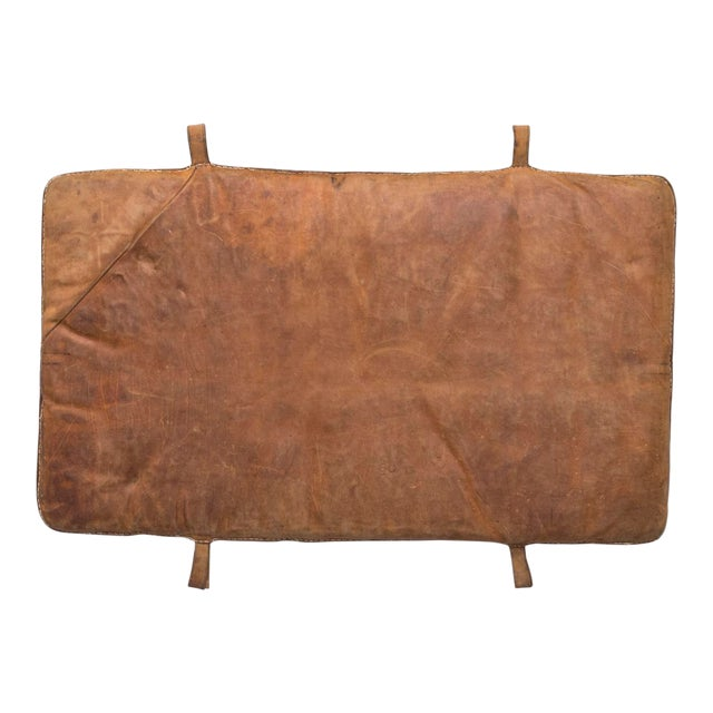 Vintage Leather Gymnastics Mat - Image 1 of 8