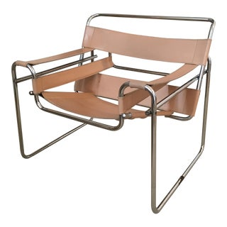Tan Wassily Style Chair