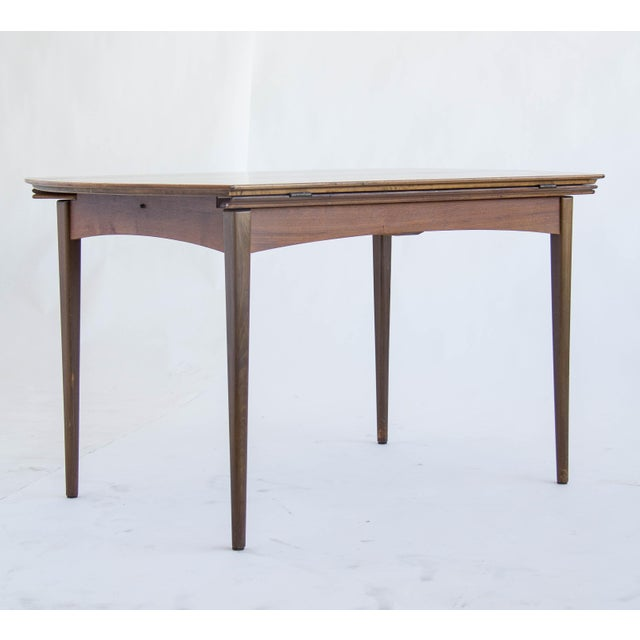 Dux of Sweden Round Drop Leaf Dining Table - Image 2 of 10