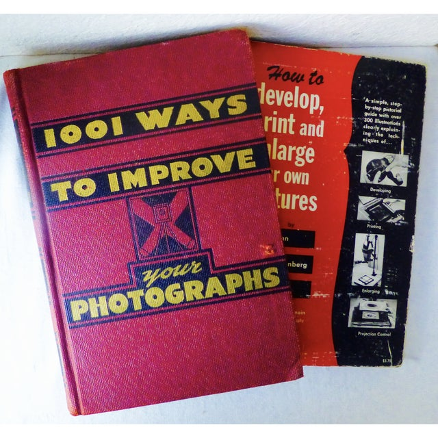 Image of Vintage How-To Photograph Books - Set of 6