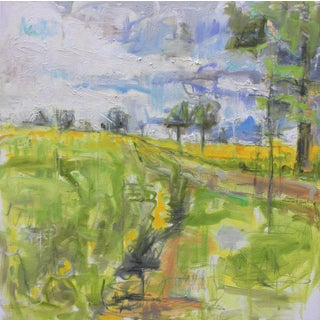 """Road to Ladoix"", Landscape by Trixie Pitts"