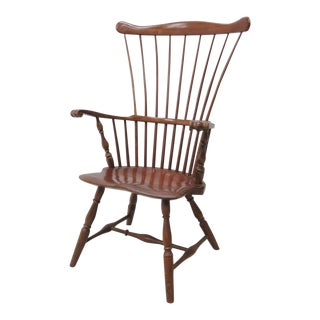 Robert T. Hogg Chester County Walnut Windsor Chair