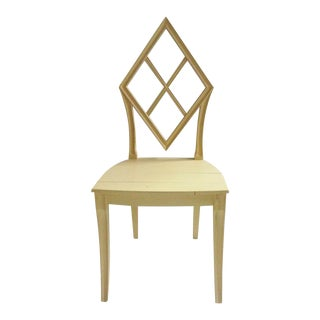 Wooden Diamond Back Hall Chair
