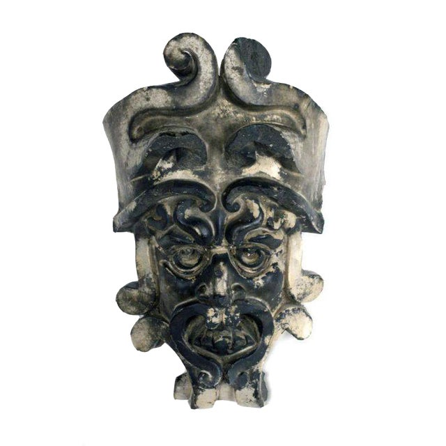 Image of Pre-Columbian Style Terra Cotta Mask