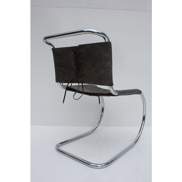 Knoll MR Side Chair By Mies Van Der Rohe - Image 5 of 9