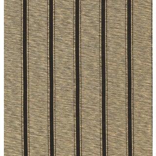 Ellington Stripe Tarnished Gold Fabric - 1 Yard