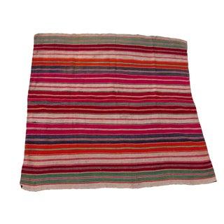 South American Wool Frazada Throw