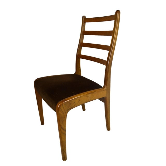 Teak dining chairs by g plan set of 4 chairish for G plan teak dining room chairs
