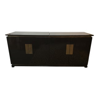 Asian Style Lift Media Cabinet