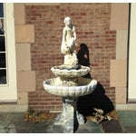 Image of Vintage 1929 Outdoor Garden Fountain