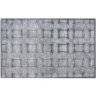 Cross Weave Motif Tufted Rug - 9'x12'