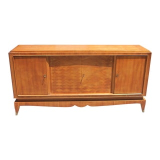 French Art Deco Palisander Parquetry Buffet