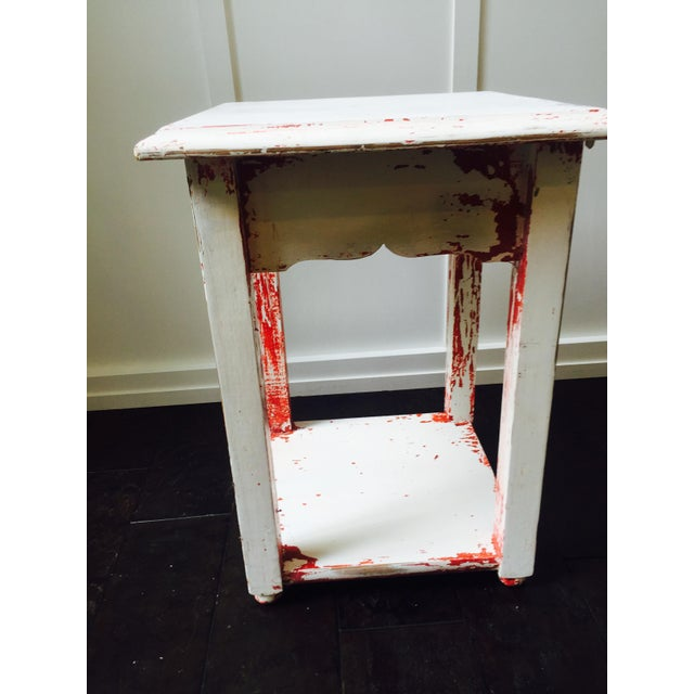 Image of Shabby Chic Side Table