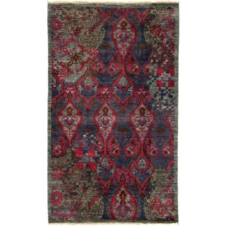 """New Suzani Hand Knotted Area Rug - 3'2"""" x 5'2"""""""