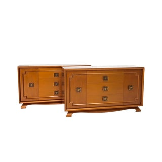 Asian Mid-Century Copper Sideboards - A Pair