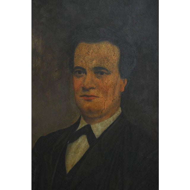 19th Century English Portrait of a Gentleman Oil on Canvas - Image 5 of 10