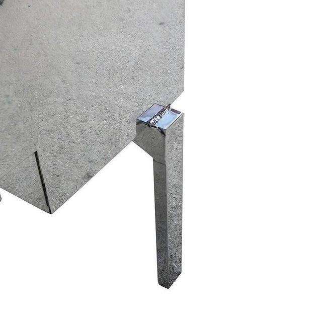 Polished Aluminium WWII Campaign Desk - Image 7 of 10