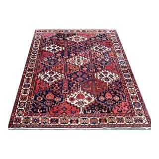 Persian Hand Made Garden of Paradise Bakhtiari Carpet- 7′6″ × 10′2″