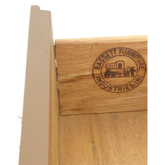 Image of Bassett Furniture 9-Drawer Dresser Credenza