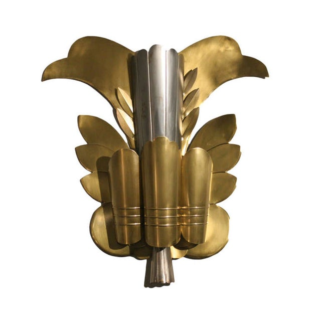 Grand Hollywood Theater Leaf Sconce - Image 1 of 4