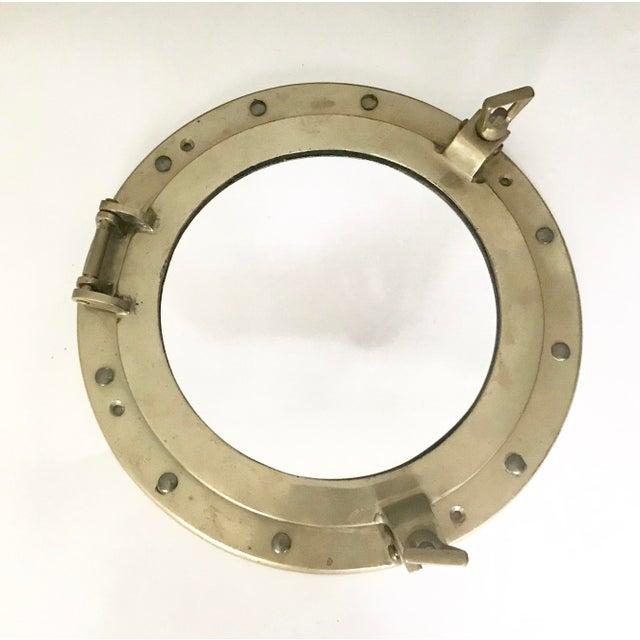 Brass Nautical Porthole Mirror - Image 2 of 4