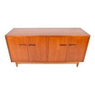 1957 Nordholm Teak & Rosewood Credenza Dresser