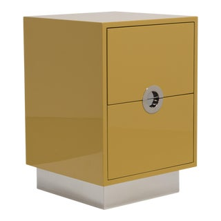 The Lacquered Porthole Bedside Cabinet by Talisman Bespoke