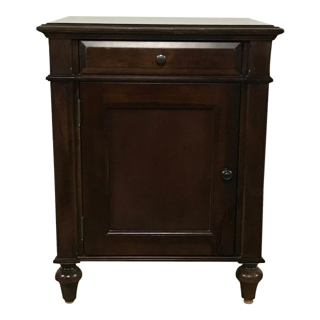 Cane-Lined Traditional Nightstand - Image 1 of 11