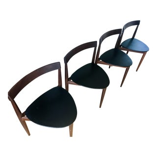 Hans Olsen Mid-Century Teak Chairs - Set of 4