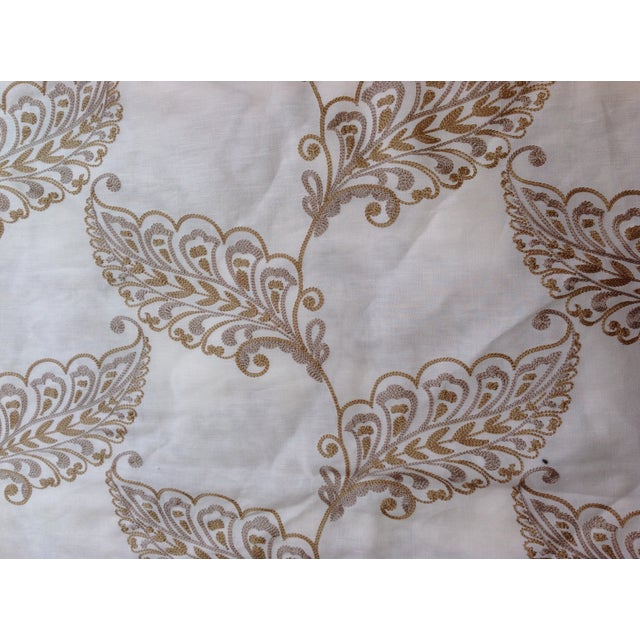 Leaf Embroidery Fabric by Highland Court - 2 Yards - Image 3 of 4